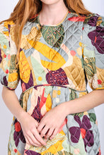 Load image into Gallery viewer, DELPHINE QUILTED DRESS