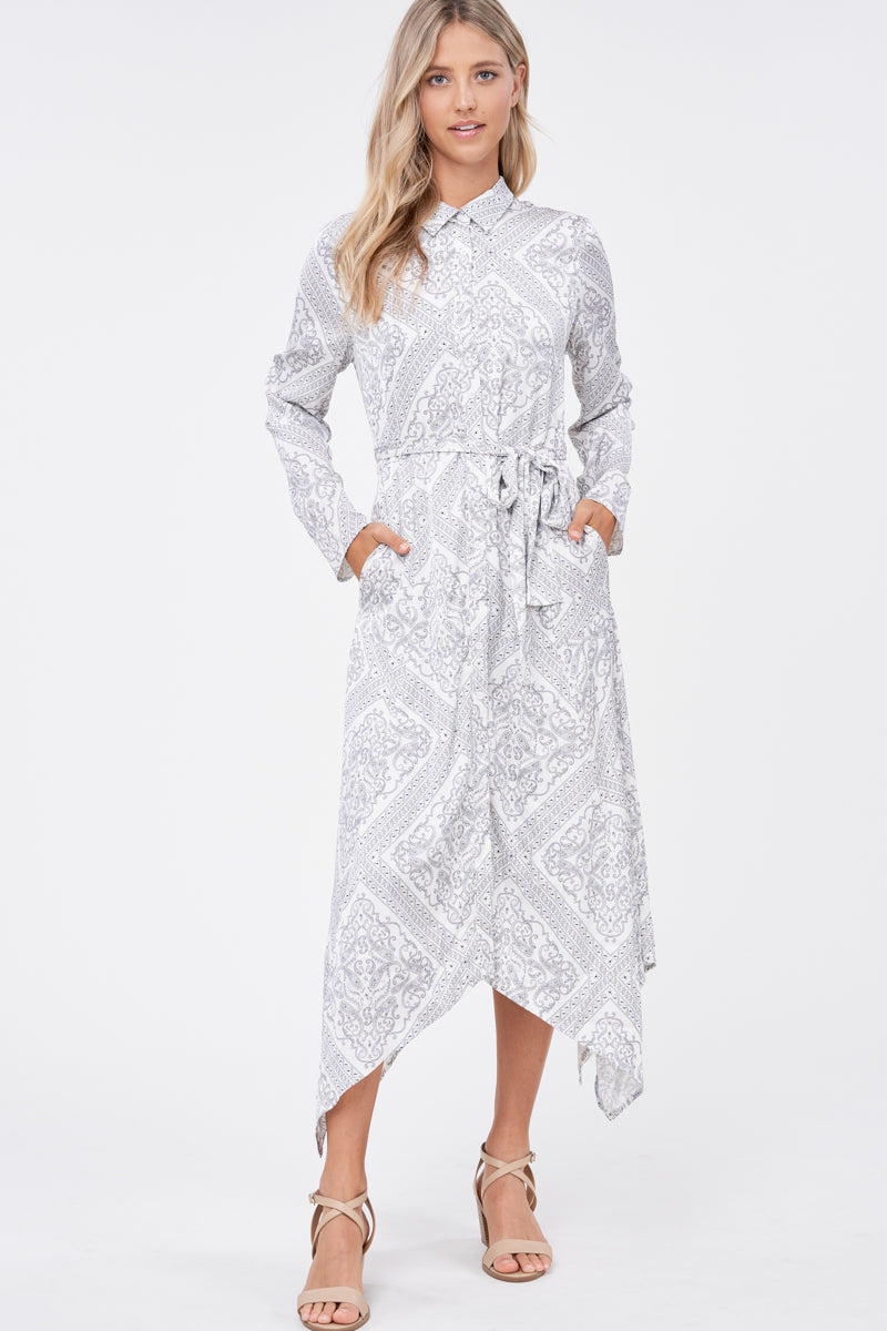 EMERY BUTTONDOWN DRESS