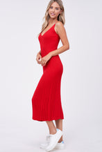 Load image into Gallery viewer, ARIA KNIT MIDI DRESS