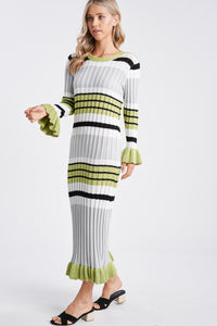 CORALINE MAXI SWEATER DRESS