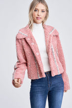 Load image into Gallery viewer, BRIELLE SHEARLING JACKET