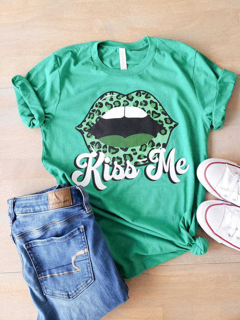 Kiss Me St. Pattys day Tee