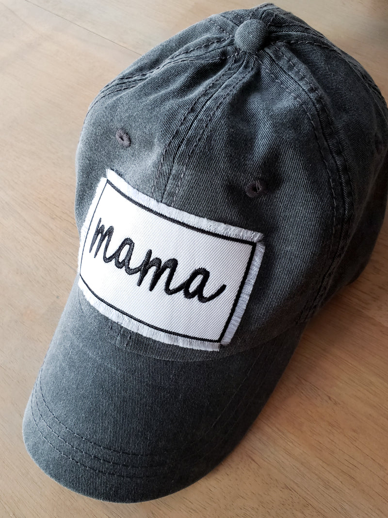Mama Patch Vintage Hats