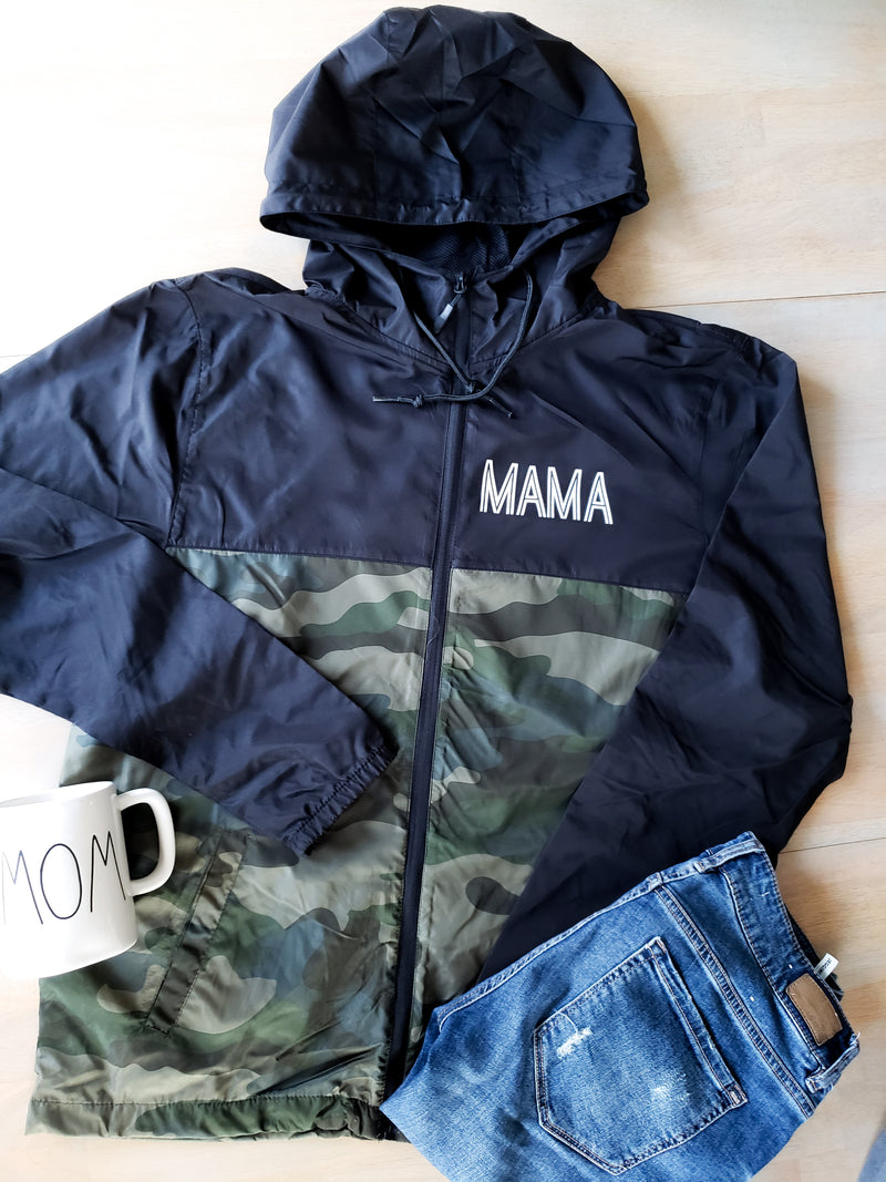 Mama Water Resistant Lightweight Windbreaker • Unisex Windbreaker