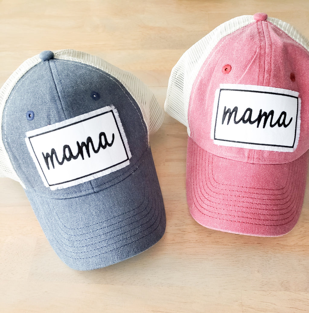 Mama Patch Vintage Trucker Hat