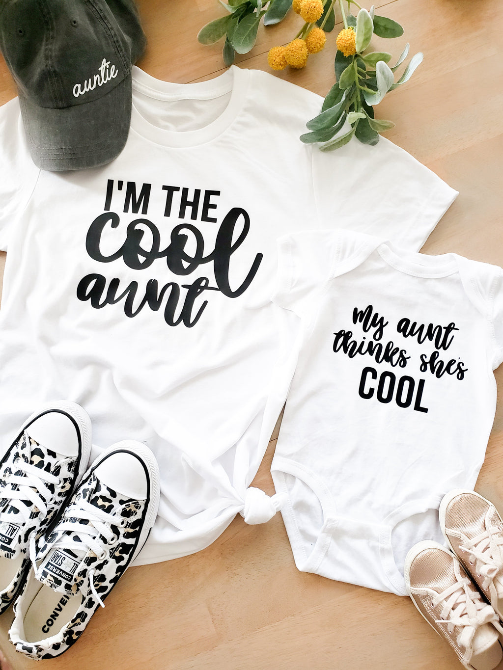 Aunt and Niece Matching Tees