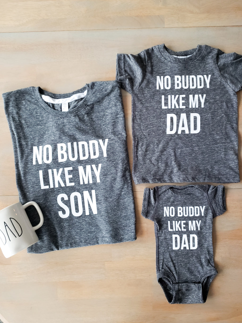No Buddy Matching Daddy and Me Set