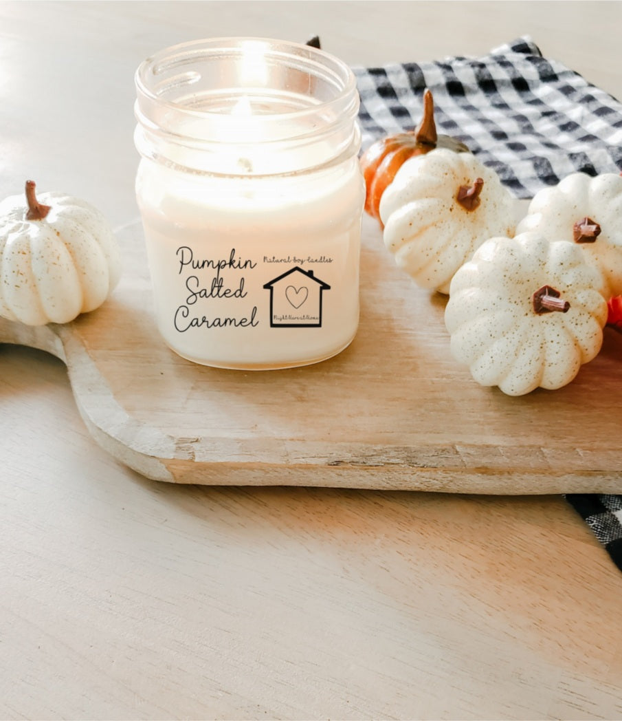 Pumpkin Salted Caramel Candle