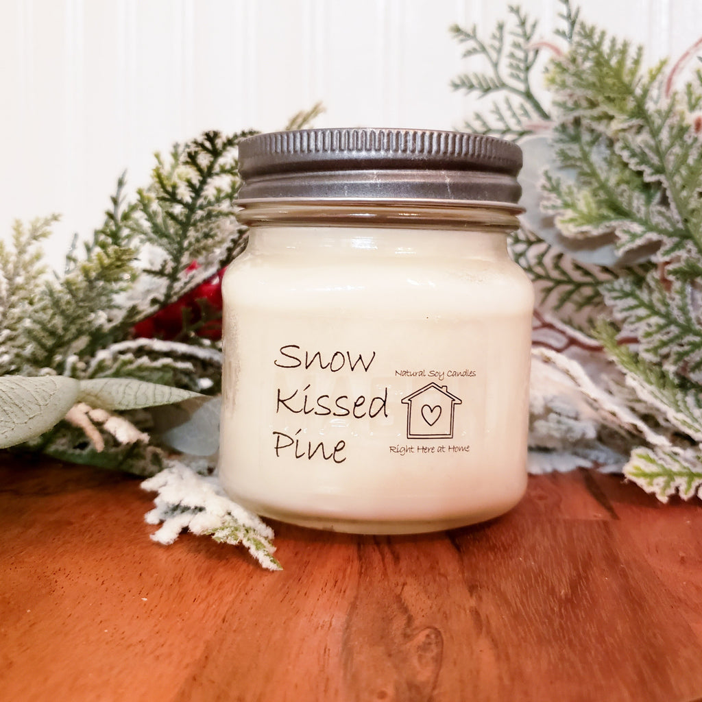 Snow Kissed Pine Candle