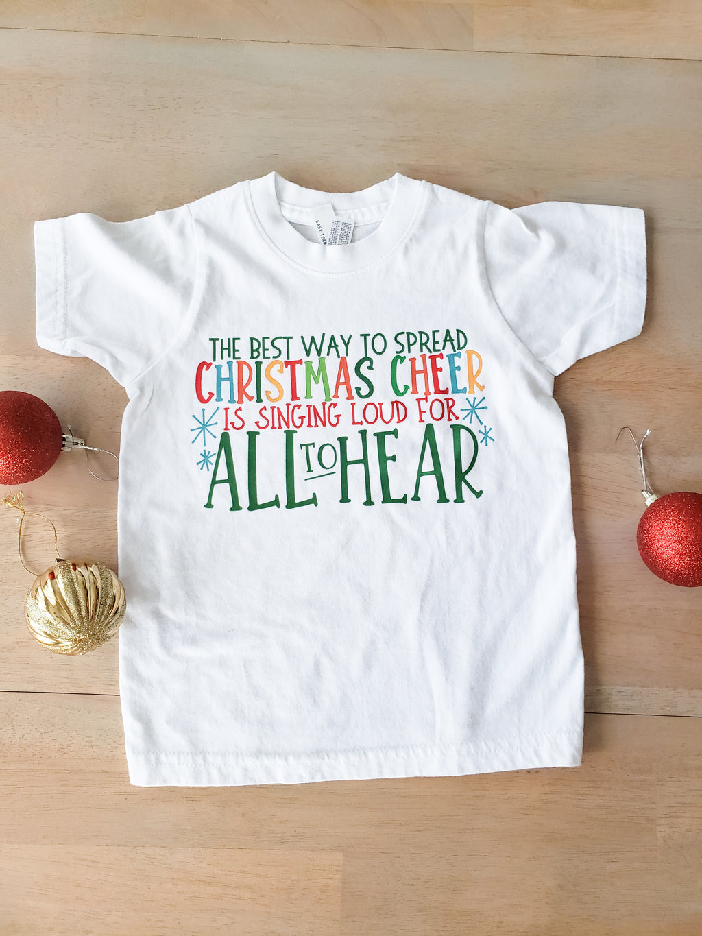 Best Way to Spread Christmas Cheer Child Shirt