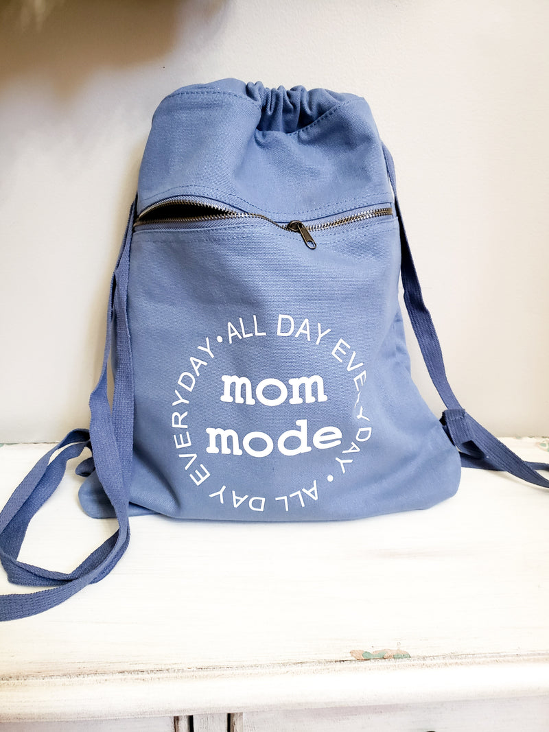 Mom Mode ALL DAY EVERYDAY Backpack