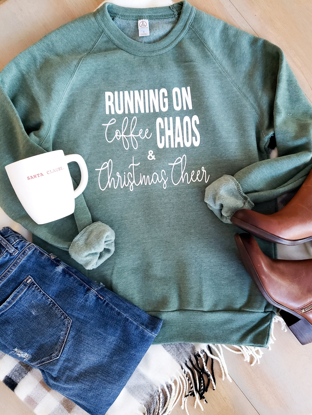 Running On Coffee Chaos and Christmas Cheer