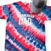 All American Dad Patriotic Tie Dye Tee