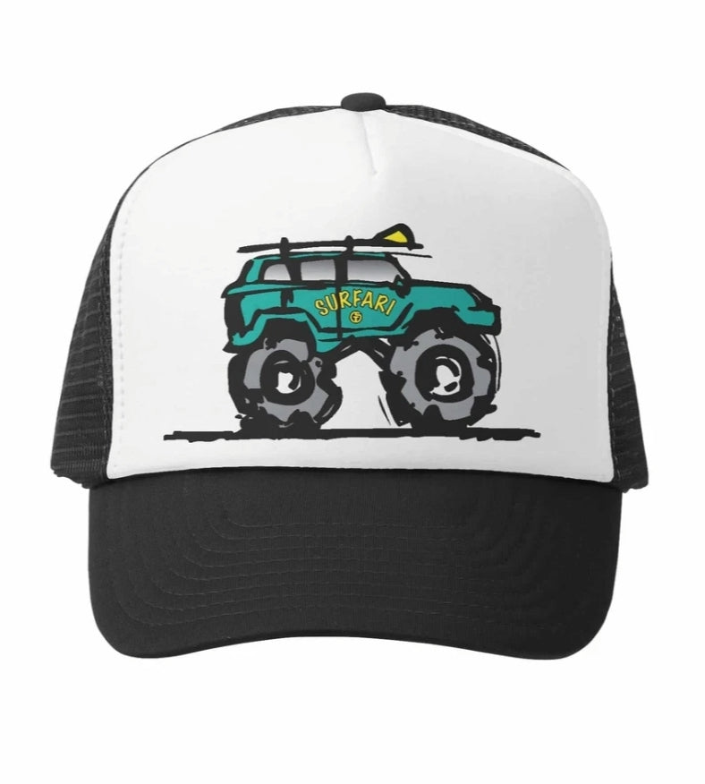 Surfari Truck Little Boy's Hat