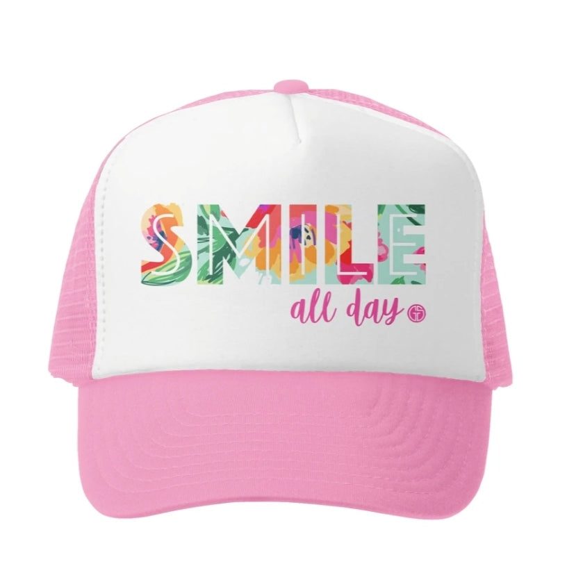 Smile All Day Little Girl Hat