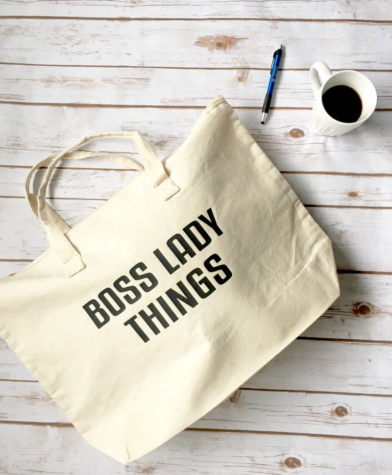 Boss Lady Bag • Boss Lady Tote Bag -