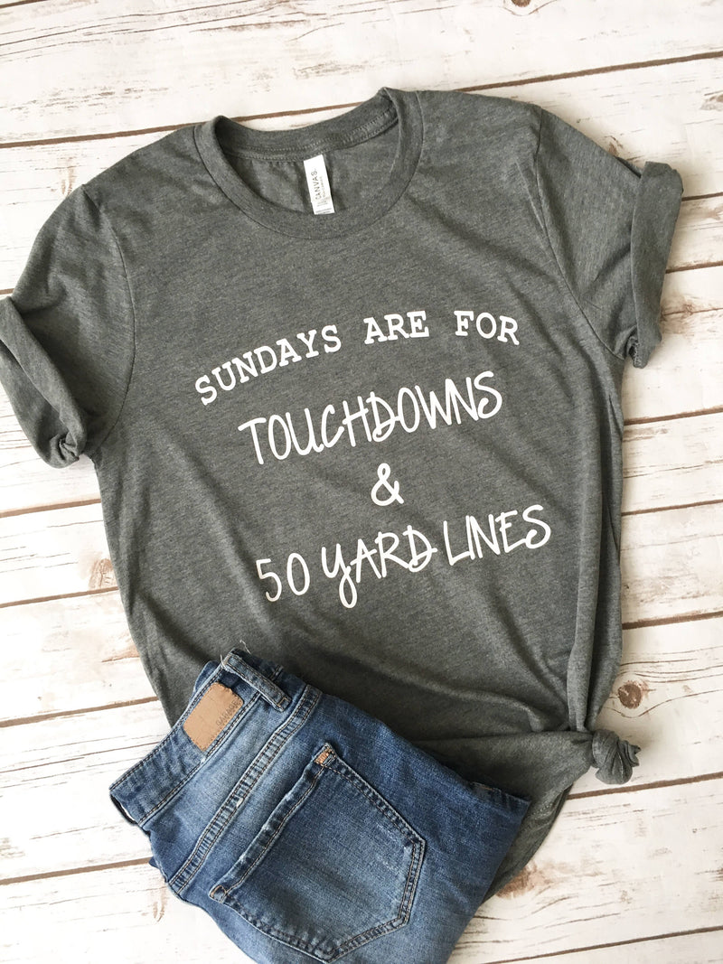Sundays Are For Football • Football Shirt -
