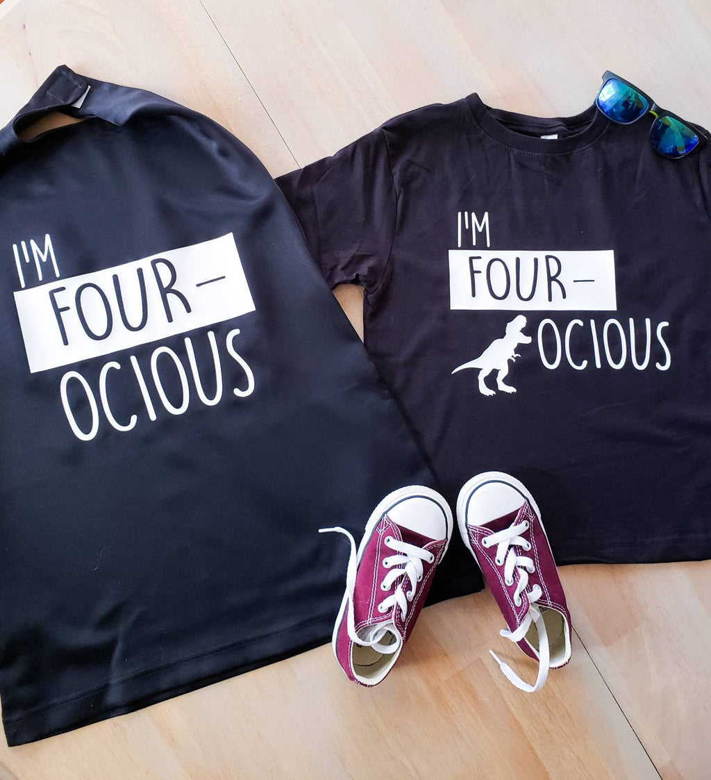 Im Fourocious Outfit • Fourocious Shirt and Cape -