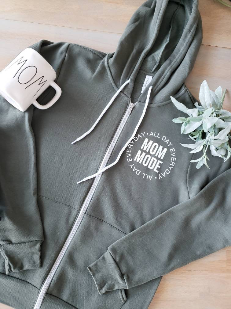 Mom Mode Sweatshirt • Mom Sweatshirt -