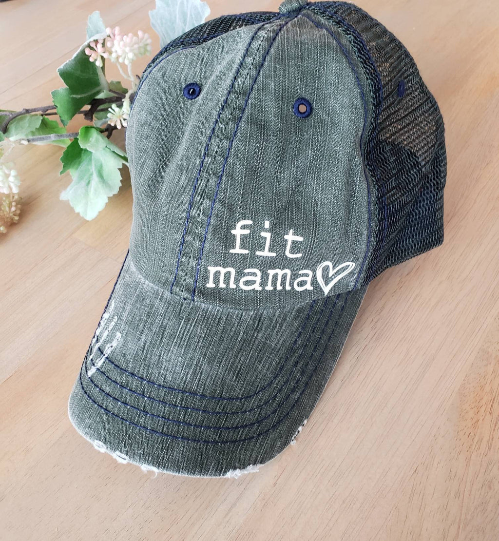Fit Mama Hat • Fitness Mom Hat -