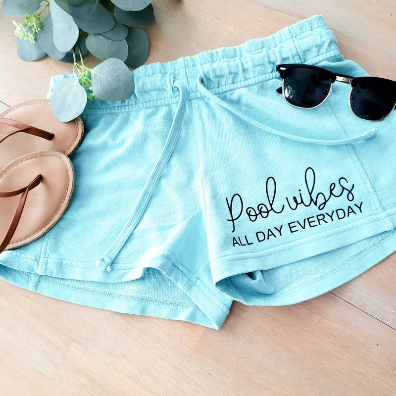 Pool Vibes • Pool Shorts -