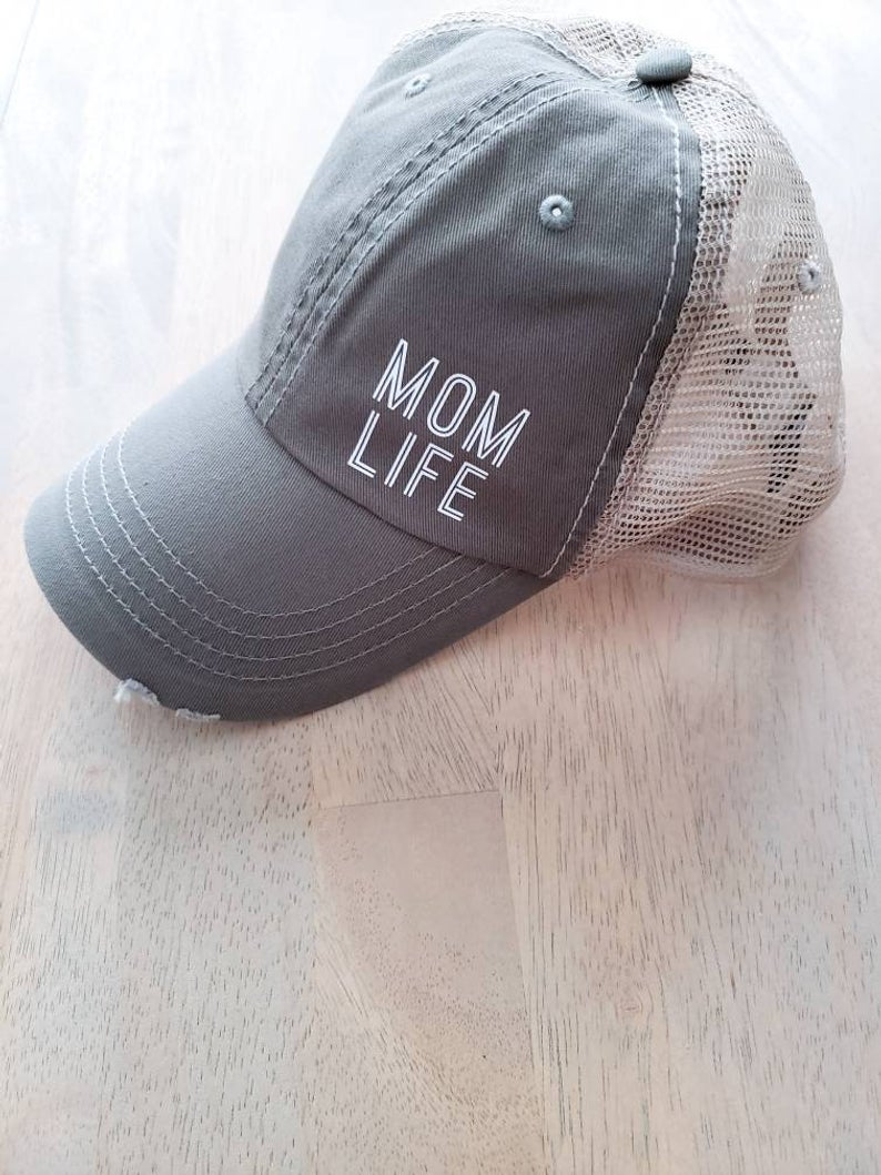 Mom Life trucker hat -