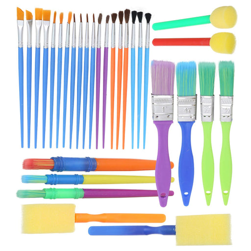 Complete Set of 30 Art Paint Brushes