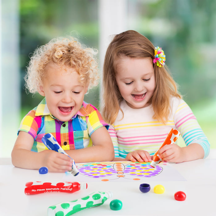 Jumbo Washable Dot Paint Markers