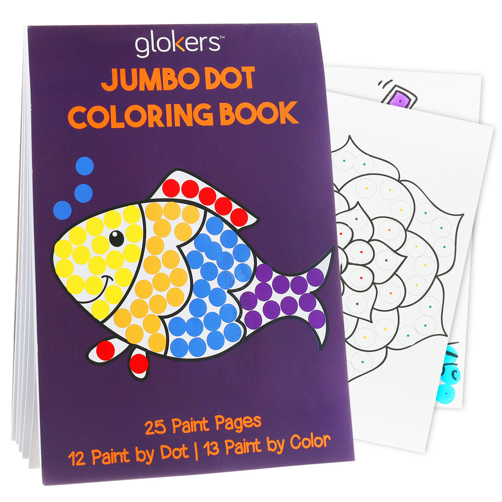Jumbo Dot Coloring Book
