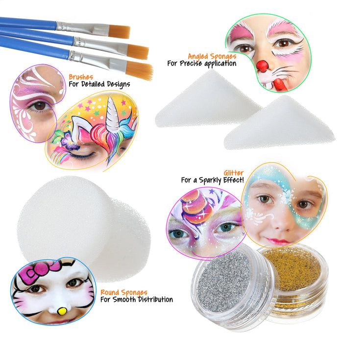 Complete Face Painting Kit