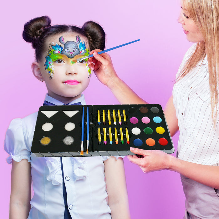 Complete Oil Face Painting Kit