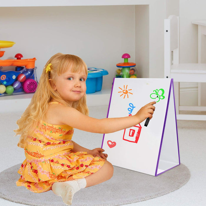 Kids Magnetic Tabletop Easel with Number and Letters