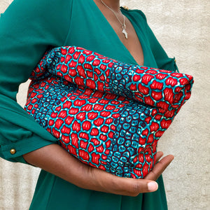 Styling Soft Ankara Fold-Over Clutch | FabricChild
