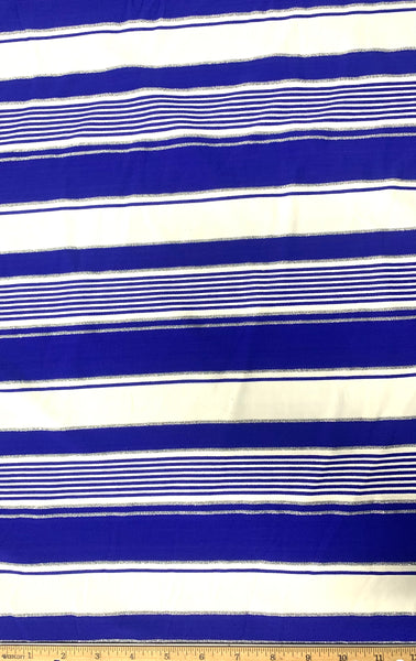 AWF-7453W STRIPE TEXTURE METALLIC ACTIVEWEAR KNIT. FRANCE