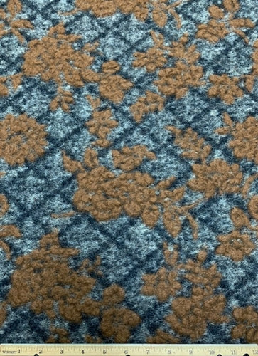 WC-7294W KING ARTHUR TEXTURED BOILED WOOL. ITALY