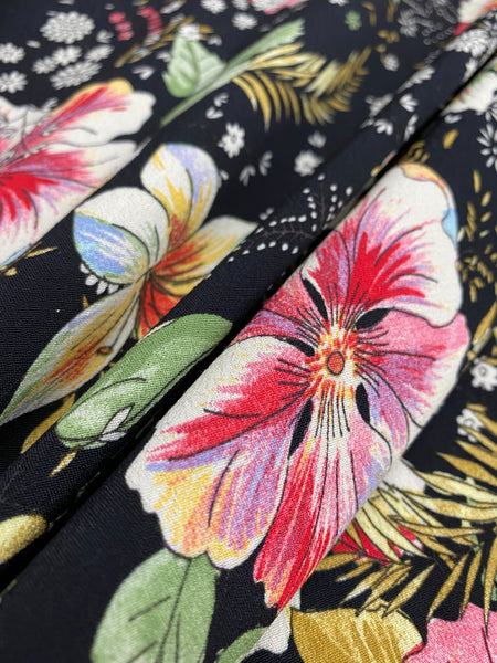 25485 Digital Print Fine Viscose Crepe - Made in Italy