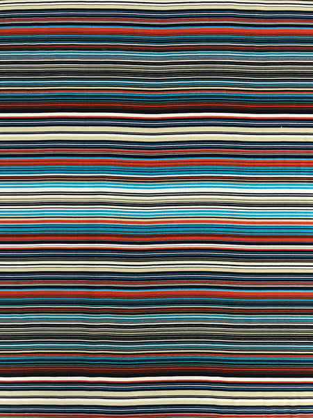 RV-5054W-B FINE STRIPE PRINT VISCOSE. FRANCE