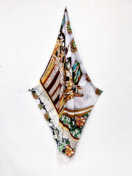 "DS-2004 ""CONSTANCE"" - PETER PILOTTO DIGITAL PRINT CASHMERE MODAL SCARF. MADE IN ITALY"