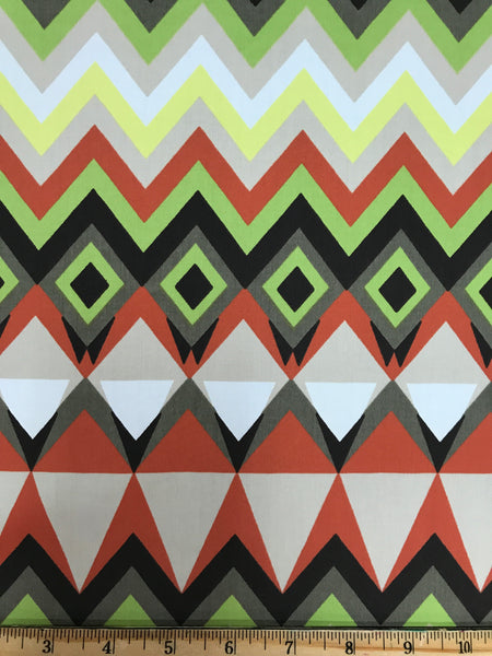 CP-1654W ZIG ZAG PRINT COTTON SHIRTING. FRANCE