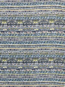 CT-1929W TRIBAL PRINT COTTON TEXTURED. FRANCE