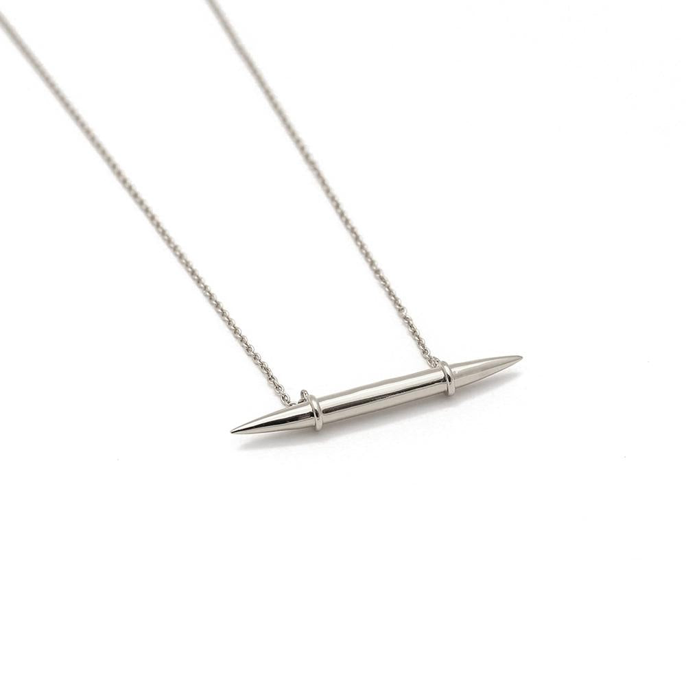 Rahya Jewelry Design Austin Pendant Necklace in Silver