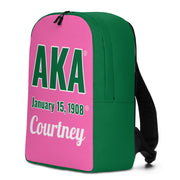 Personalized AKA Backpack (Production time up to 3 weeks.)