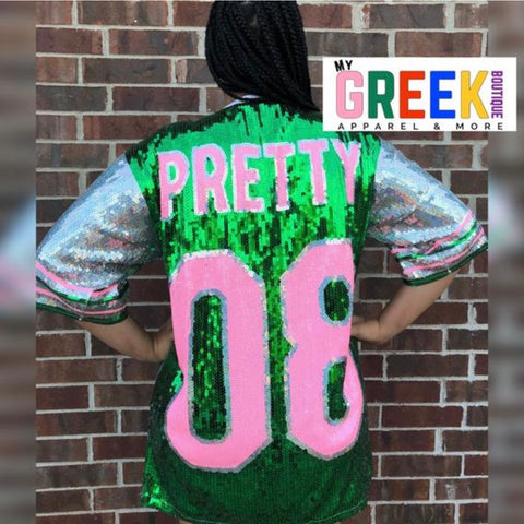 Pretty 08 AKA Sequin Jersey (FINAL SALE!)