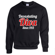 Devastating Diva Since 1913 Shirt (Unisex Fit)
