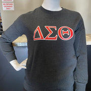 ΔΣΘ Crew Pocketed Sweatshirt (FINAL SALE!)