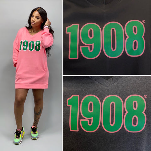 1908 Oversized Sweatshirt Dress (FINAL SALE!)