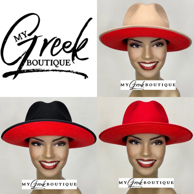 Red Bottom Fedora Hat (FINAL SALE!)