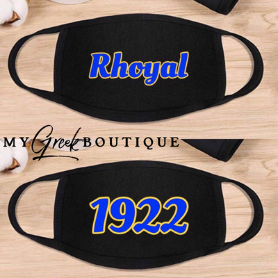 Rhoyal 1922 Filtered Mask (FINAL SALE!)