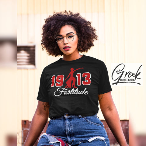 1913 Black Fortitude Shirt (Unisex Fit)
