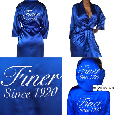 Finer Since 1920 Satin Faves